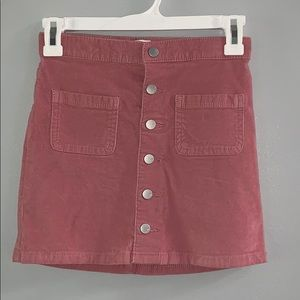 Children's Place Button-Up Skirt